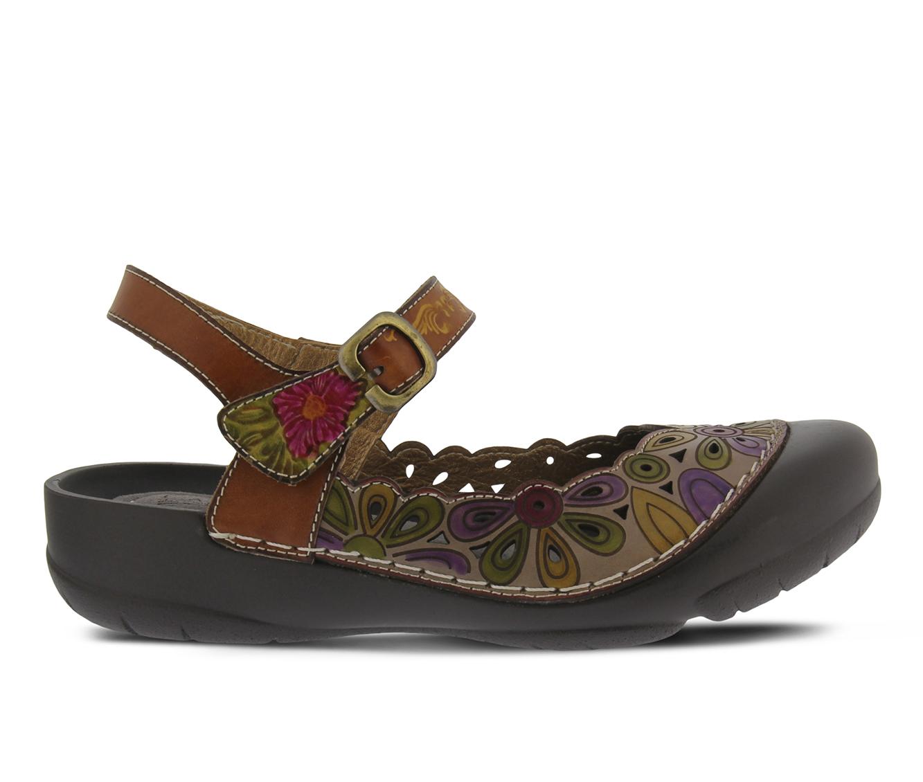 L'Artiste Tonisha Women's Shoe (Brown Leather)