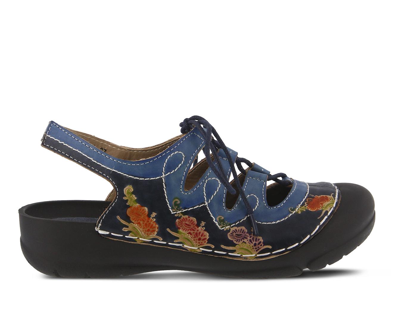 L'Artiste Vesta Women's Shoe (Blue Leather)