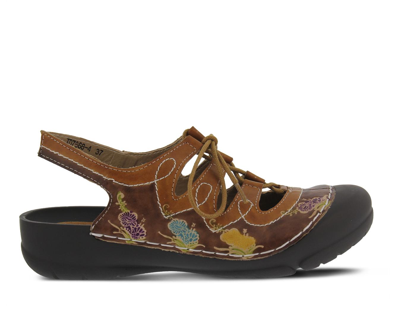 L'Artiste Vesta Women's Shoe (Brown Leather)