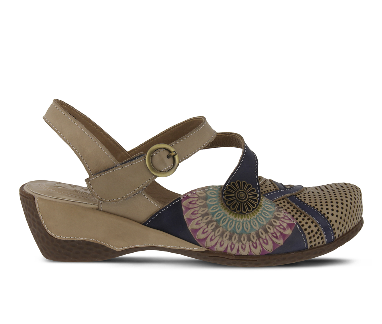 L'Artiste Parkway Women's Shoe (Brown Leather)