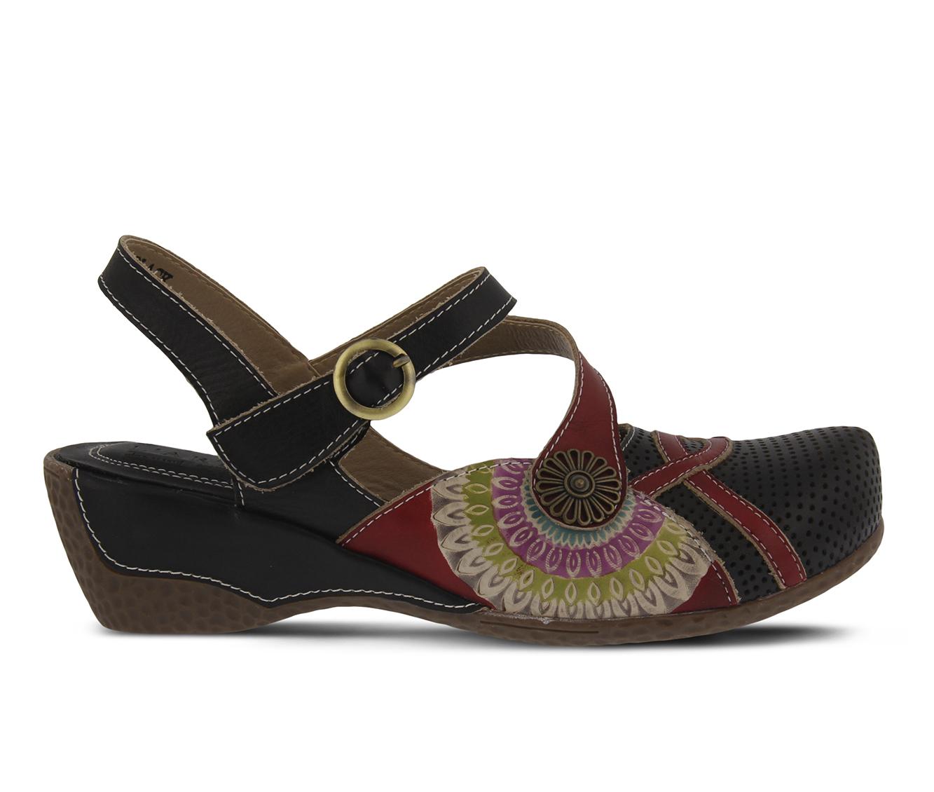 L'Artiste Parkway Women's Shoe (Black Leather)
