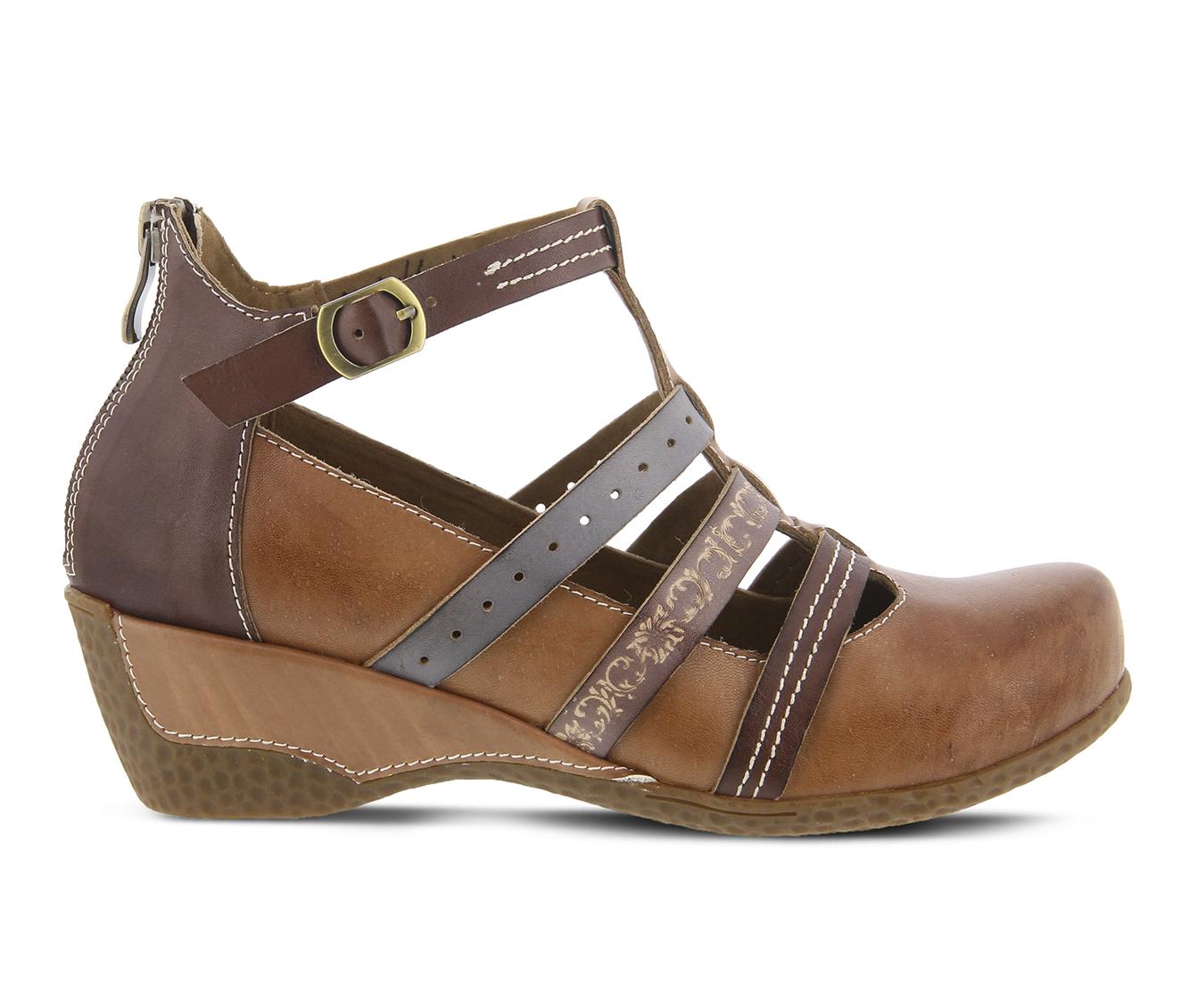 L'Artiste Yulianna Women's Shoe (Brown Leather)