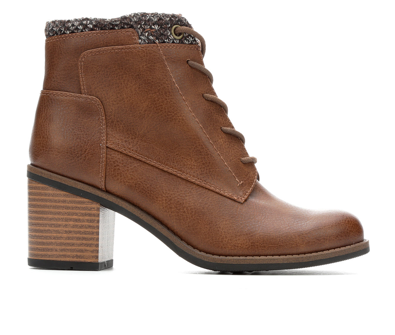 White Mountain Desmen Women's Boots (Brown - Faux Leather)