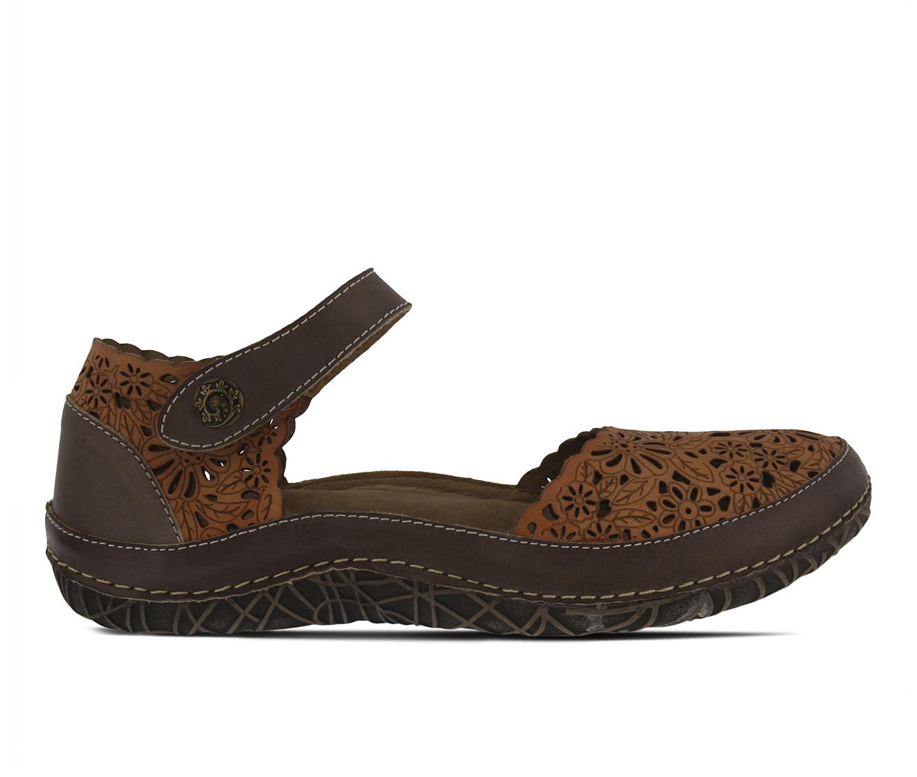 L'Artiste Kysandra Women's Shoe (Beige Leather)