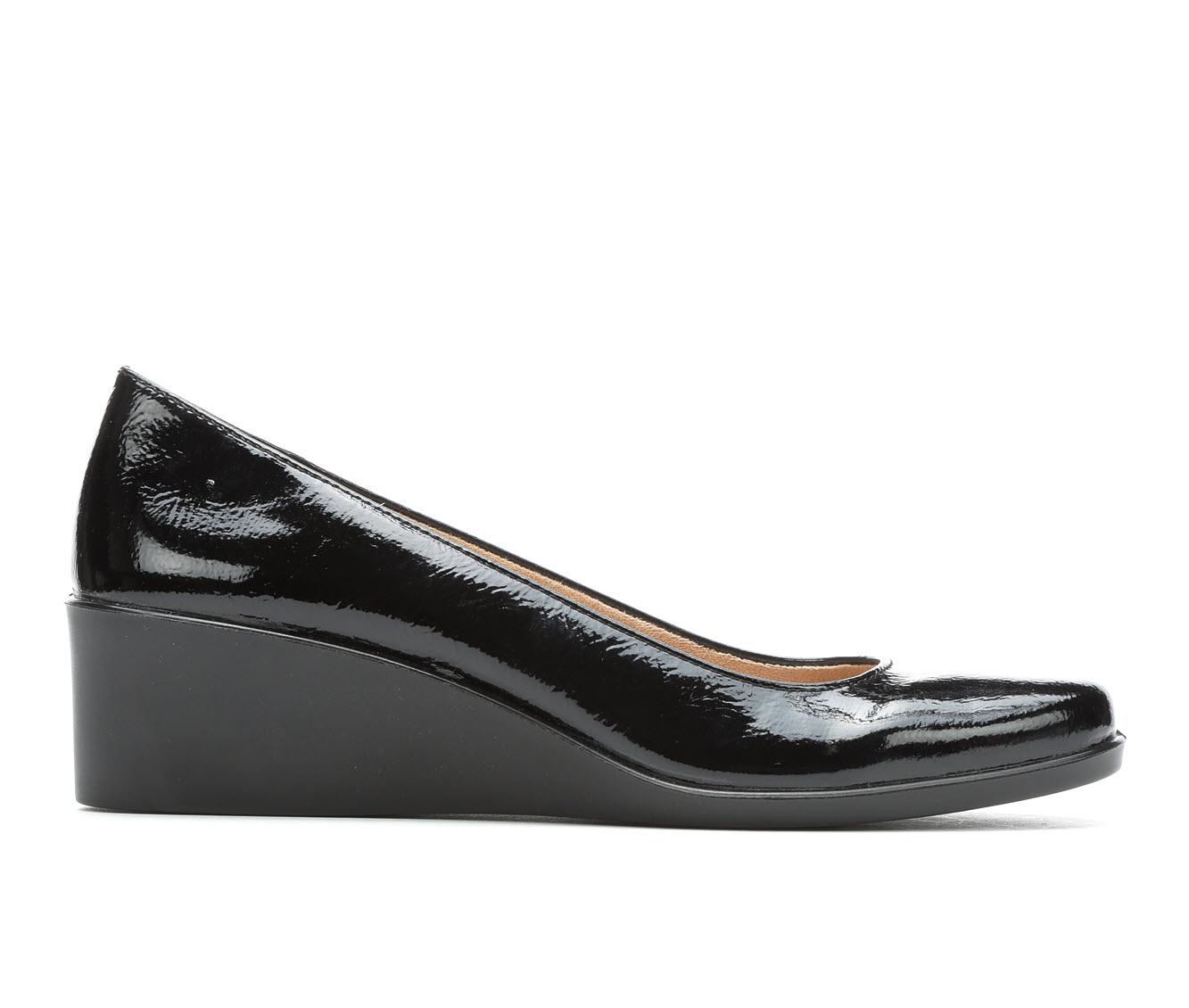 LifeStride Lauren Women's Shoe (Black Faux Leather)