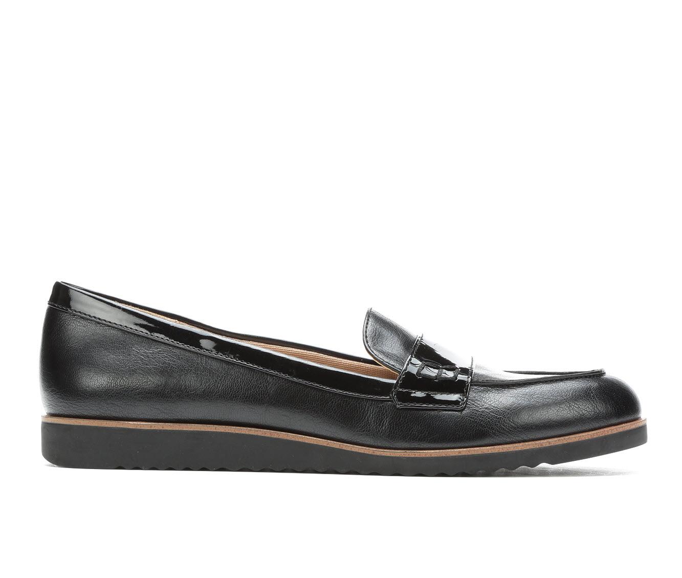 LifeStride Zee Women's Shoe (Black Faux Leather)