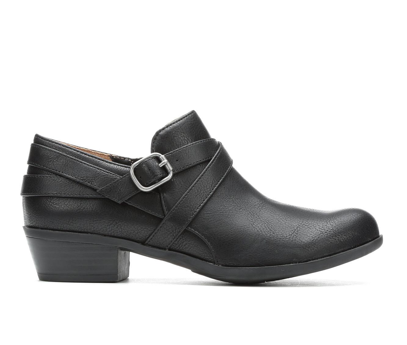 LifeStride Adley Women's Shoe (Black Faux Leather)