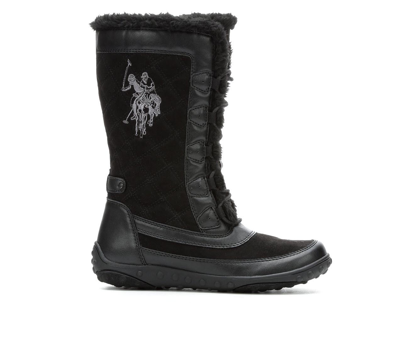 US Polo Assn Caribou Women's Boot (Black Canvas)