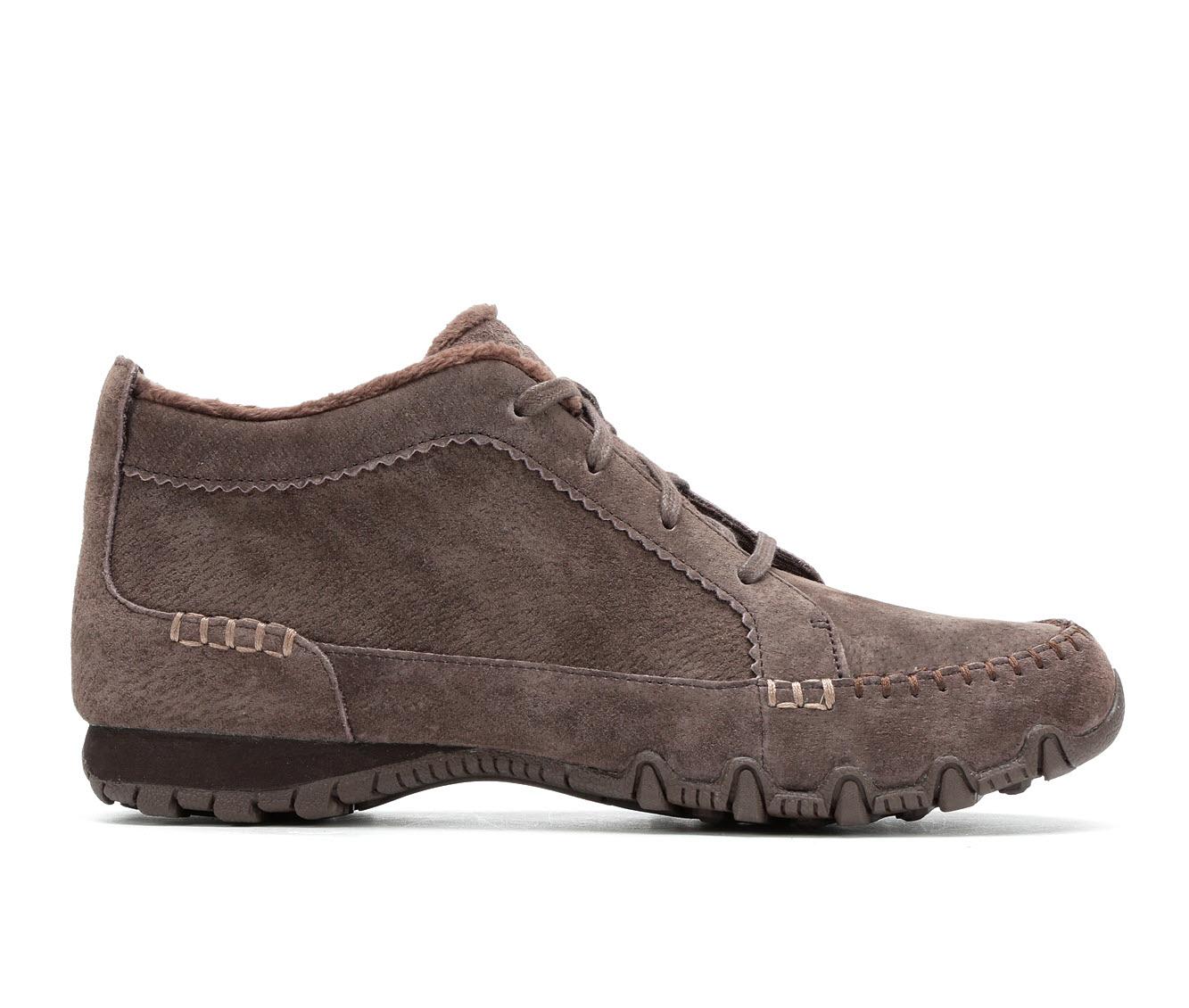 Skechers Lineage 44706 Women's Shoe (Brown Suede)