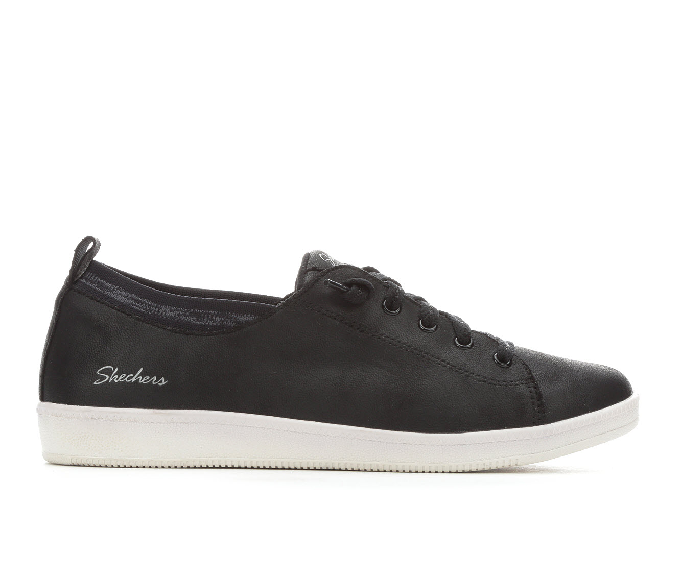 Skechers City Ways 27109 Women's Shoe (Black Faux Leather)