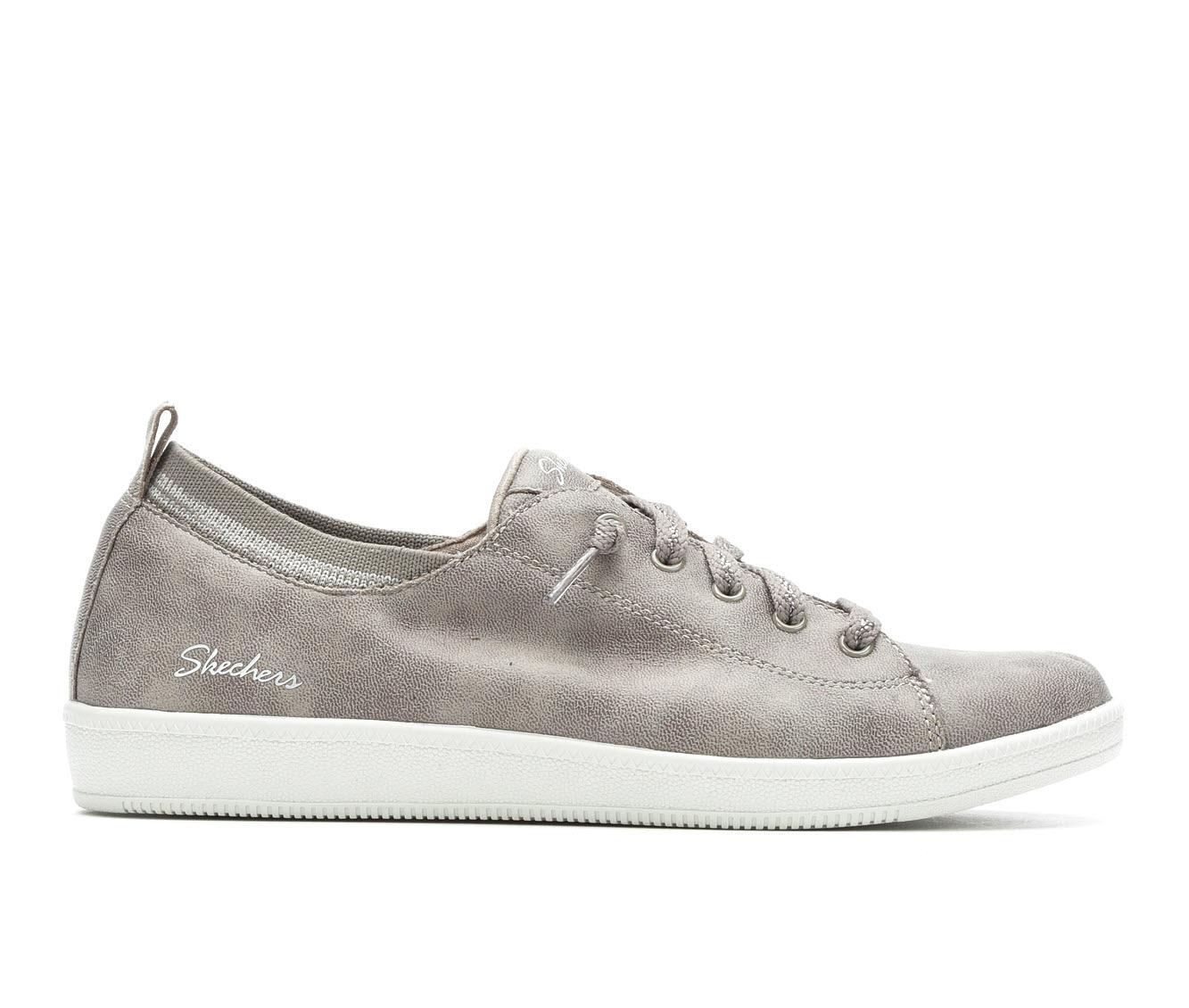 Skechers City Ways 27109 Women's Shoe (Brown Faux Leather)