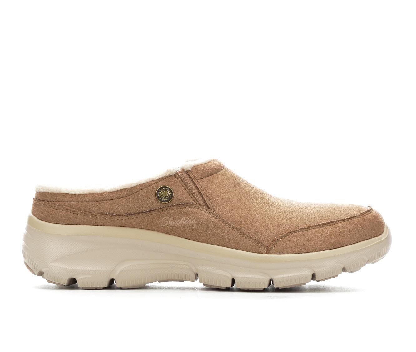Skechers Easy Going Latte 49532 Women's Shoe (Brown Suede)