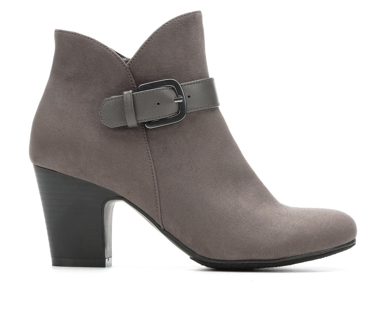 Solanz Carmen Women's Boot (Gray Canvas)