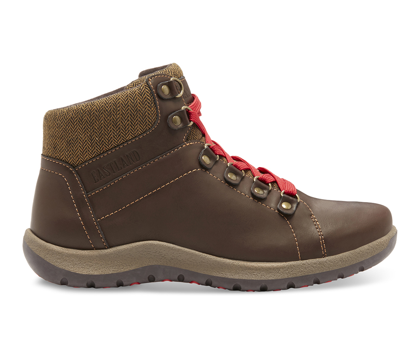 Eastland Bethanie Women's Boot (Brown Faux Leather)