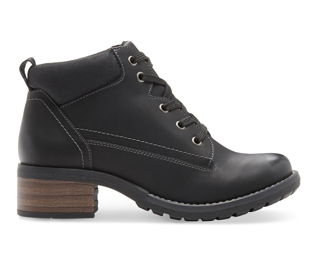 Eastland Bandana Women's Boot (Black Faux Leather)