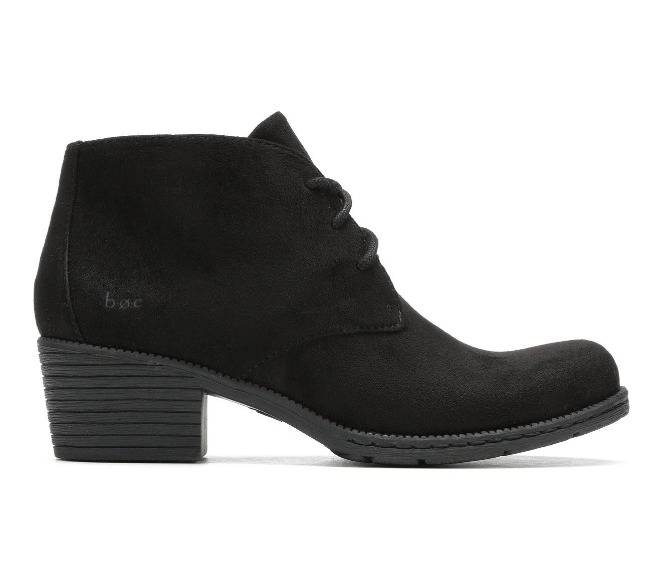 B.O.C. Leyburn Women's Boots (Black - Canvas)