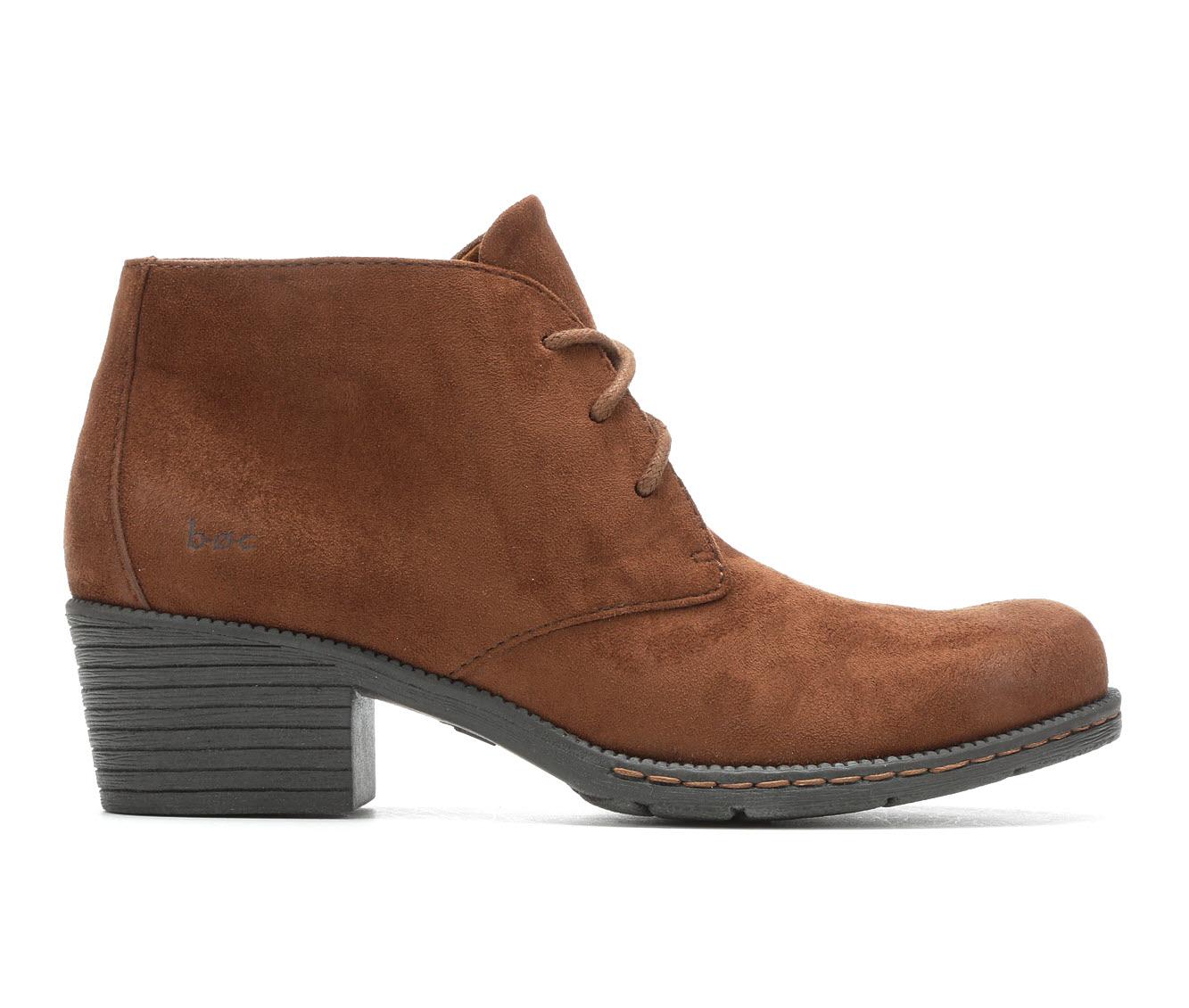 B.O.C. Leyburn Women's Boots (Brown - Canvas)