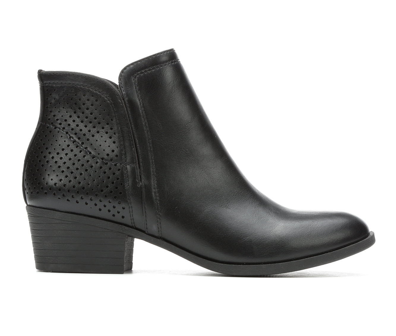 Madden Girl Honorr Women's Boot (Black Faux Leather)