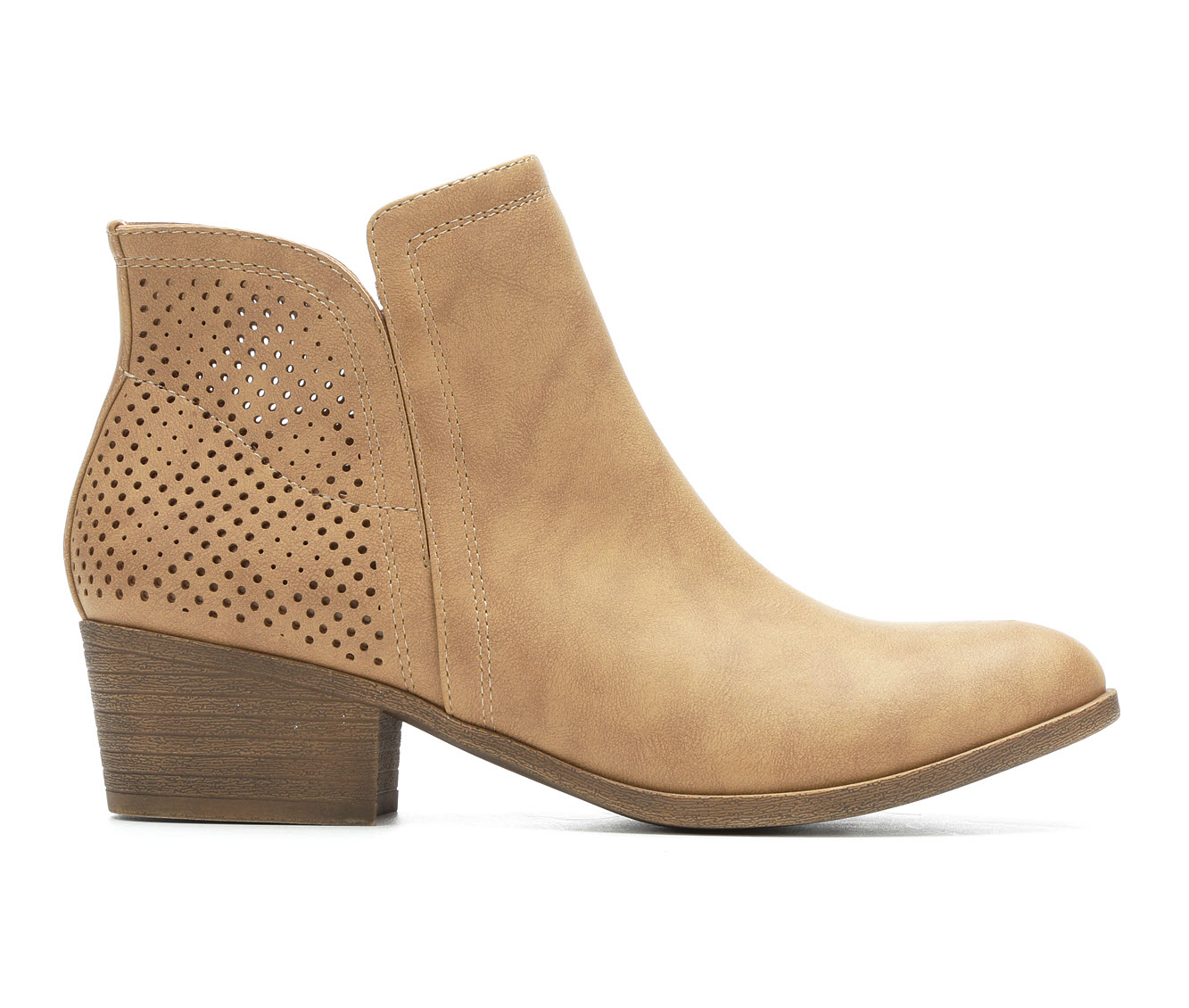Madden Girl Honorr Women's Boot (Beige Faux Leather)