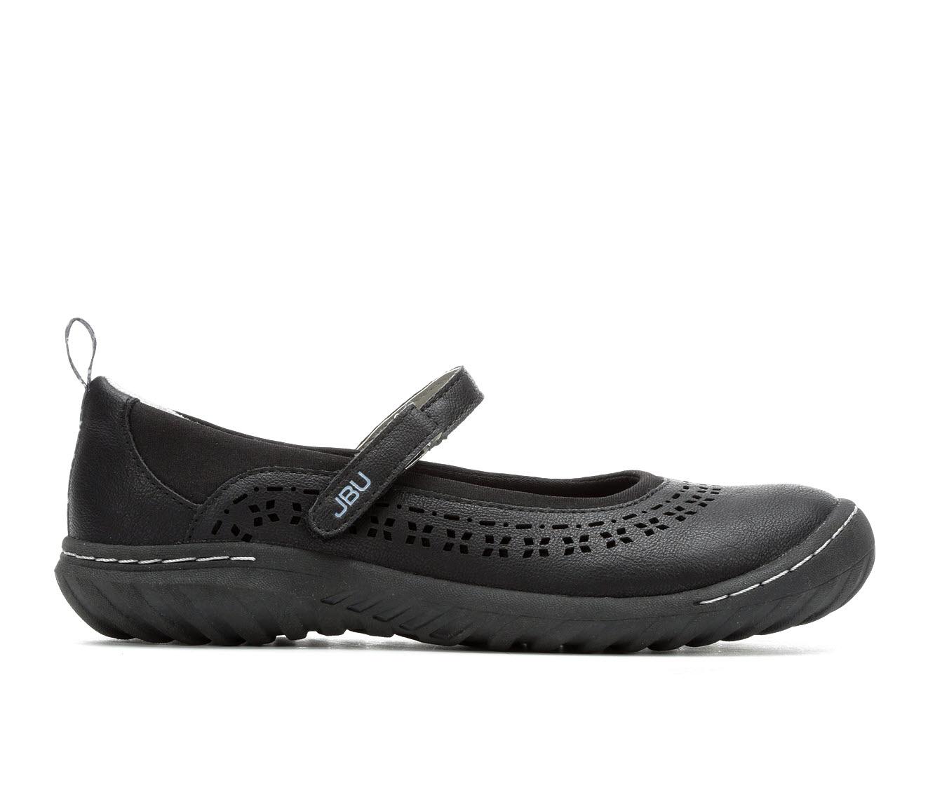 JBU by Jambu Dalton Women's Shoe (Black Faux Leather)