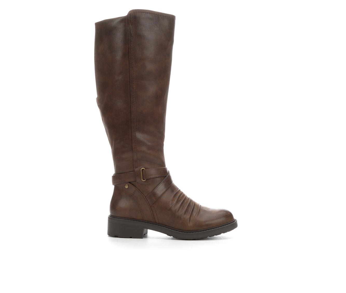 Baretraps Cathleen Women's Boot (Brown Canvas)