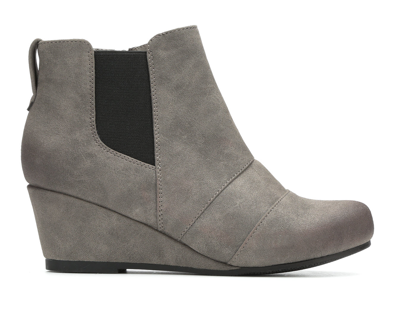 Axxiom Dreena Women's Boot (Gray Faux Leather)