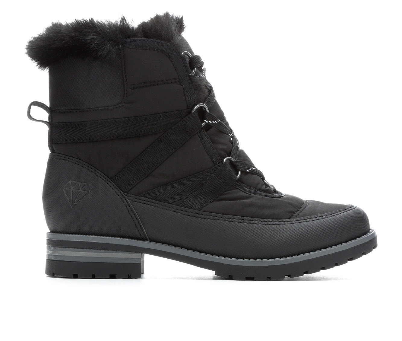 Rock And Candy Danlea-N Women's Boot (Black Canvas)