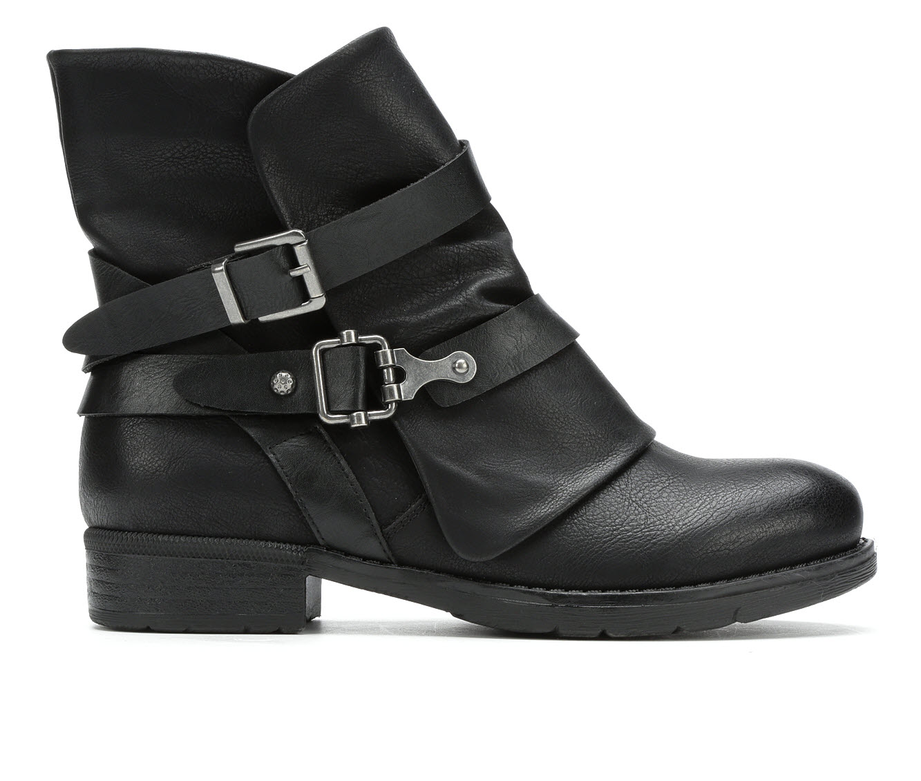 Jellypop Decades Women's Boot (Black Faux Leather)