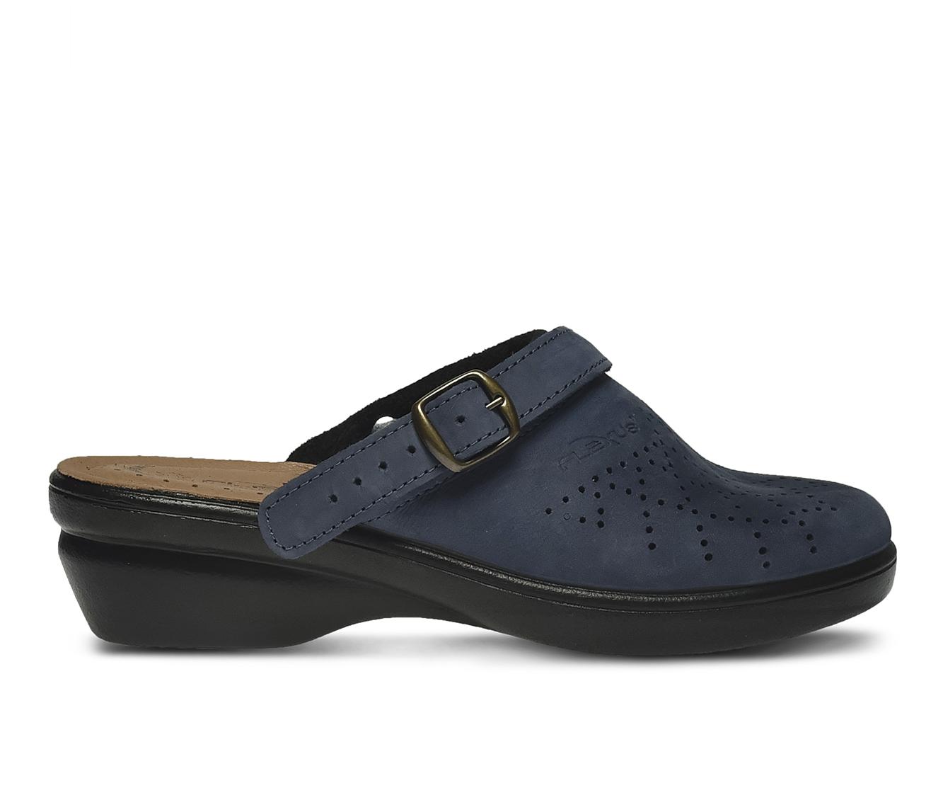 Flexus Pride Women's Shoe (Blue Faux Leather)