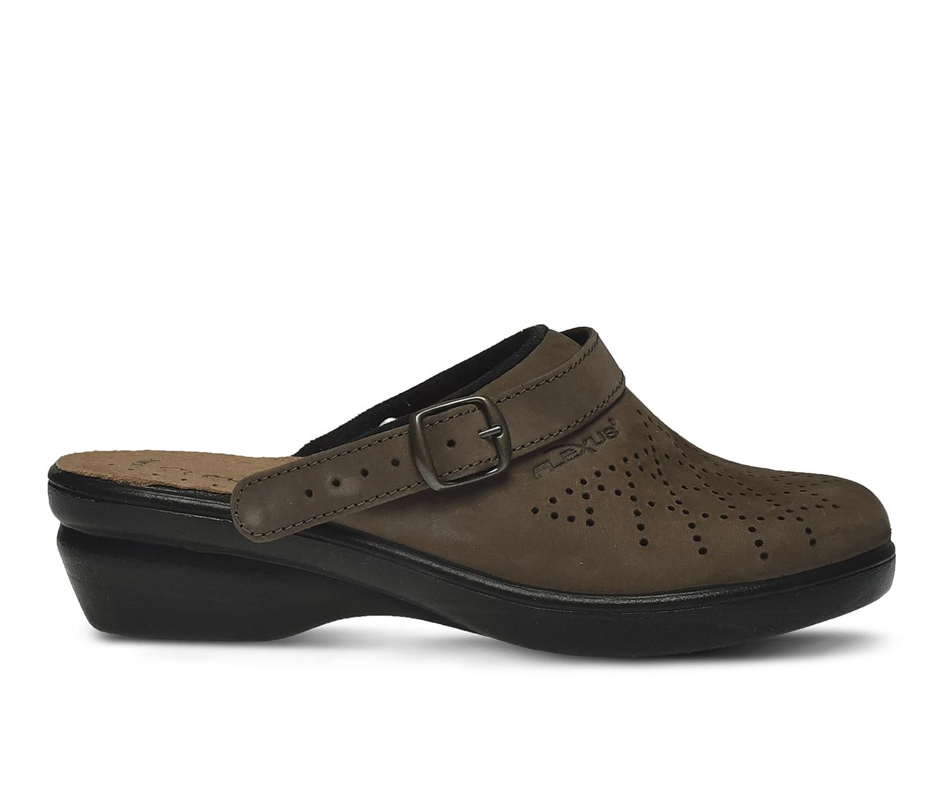 Flexus Pride Women's Shoe (Brown Faux Leather)