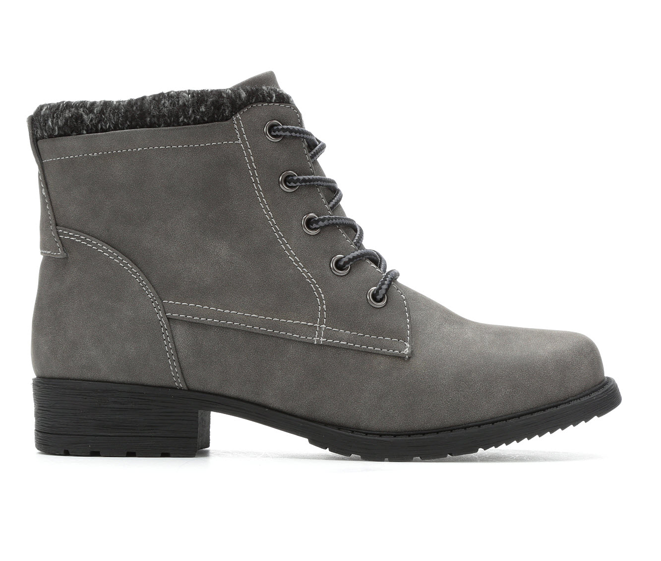 Sporto Leslie Women's Boot (Gray Faux Leather)