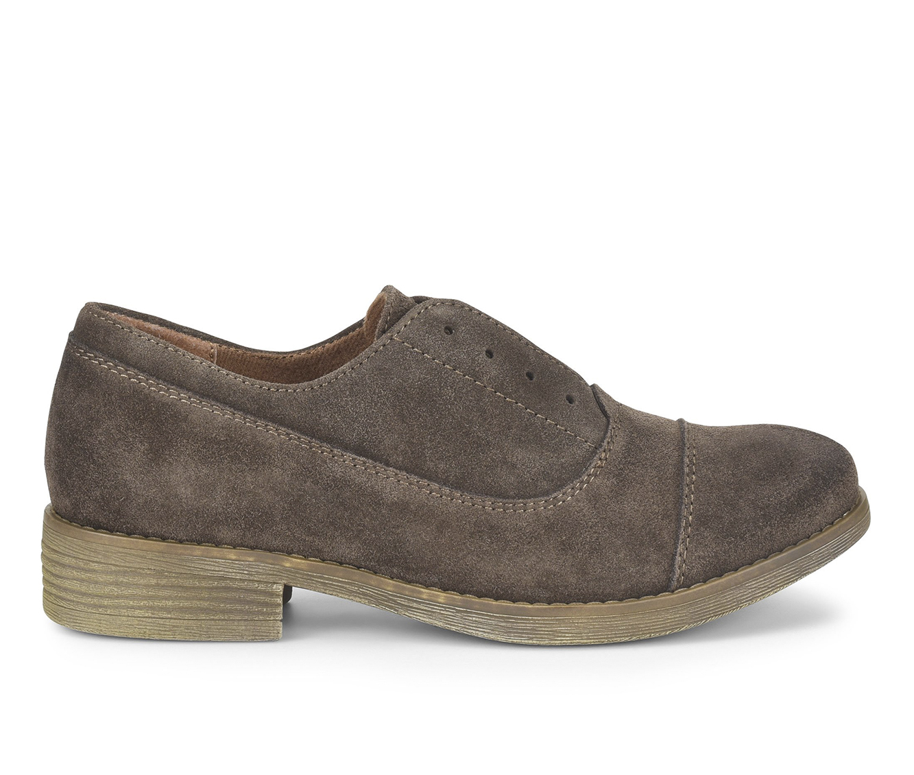 EuroSoft Tanya Women's Shoe (Brown Suede)