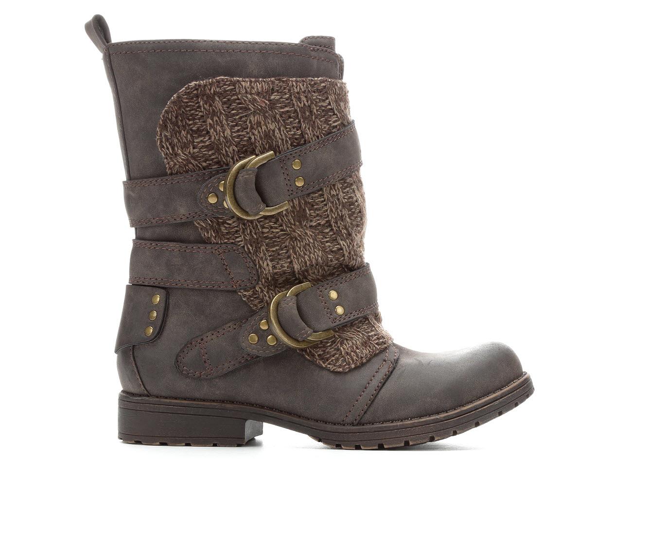 Sugar Justus Women's Boot (Brown Canvas)