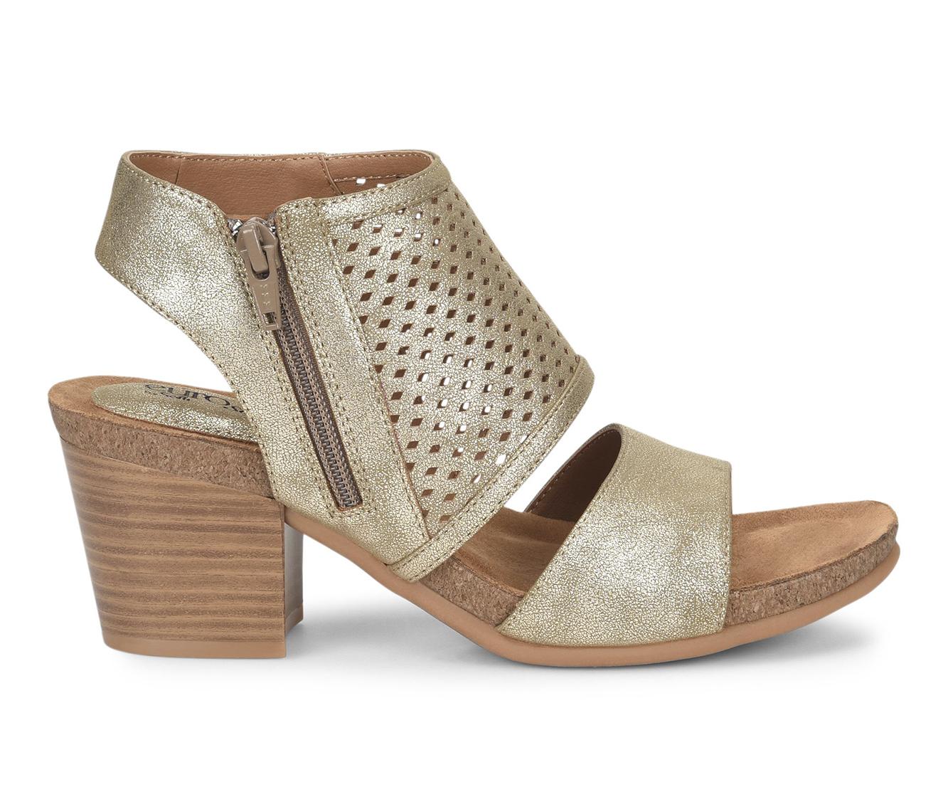 EuroSoft Annalise Women's Dress Shoe (Gold Faux Leather)