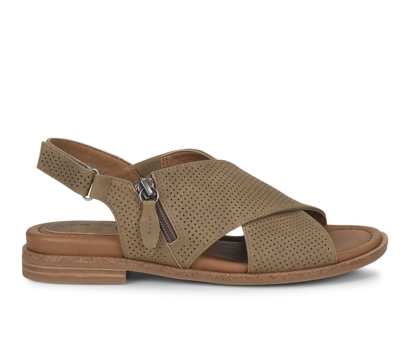 EuroSoft Darla Women's Sandal (Beige Faux Leather)