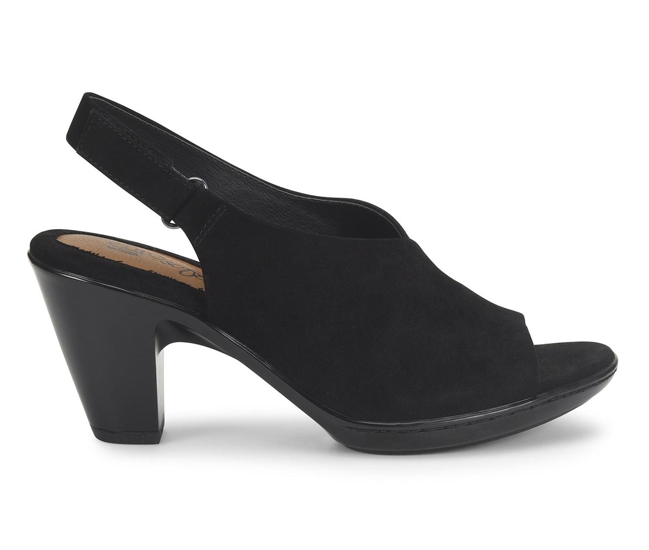 EuroSoft Valona Women's Dress Shoe (Black Suede)