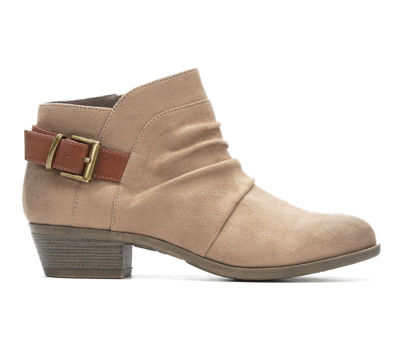 No Parking Ailey Women's Boots (Beige - Faux Leather)