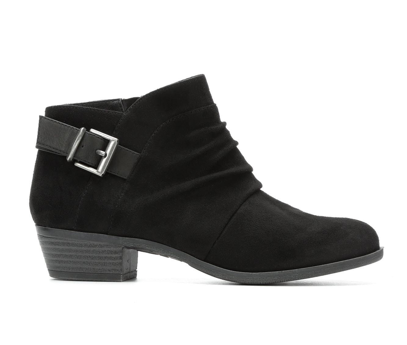 No Parking Ailey Women's Boots (Black - Faux Leather)
