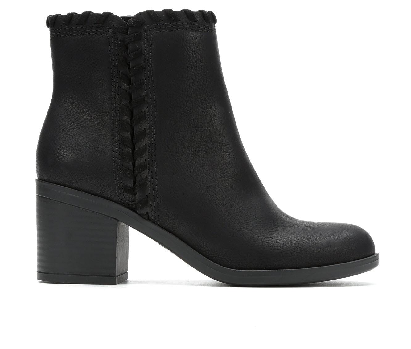 No Parking Faragh Women's Boots (Black - Faux Leather)