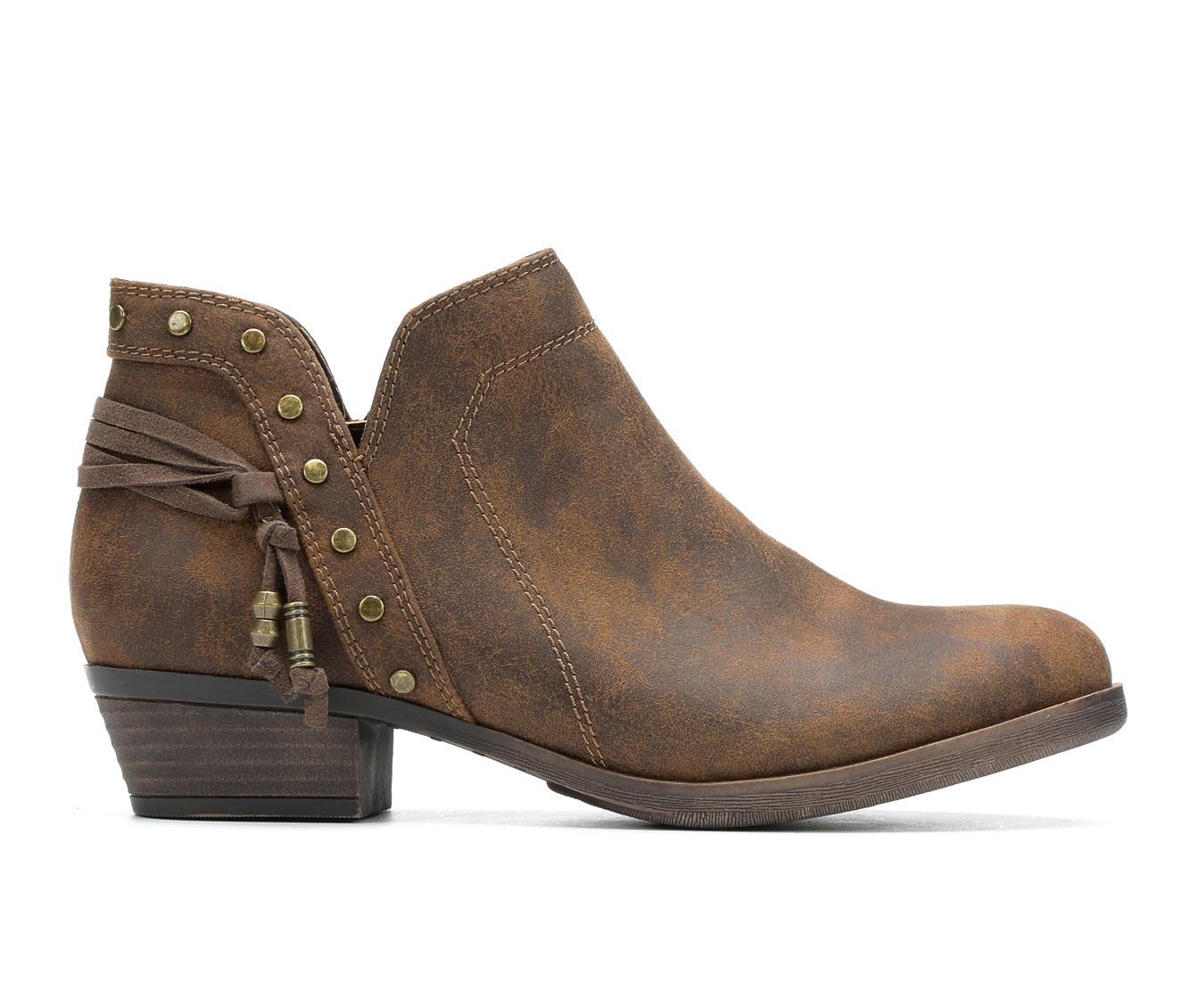 Sugar Tame Women's Boot (Brown Canvas)