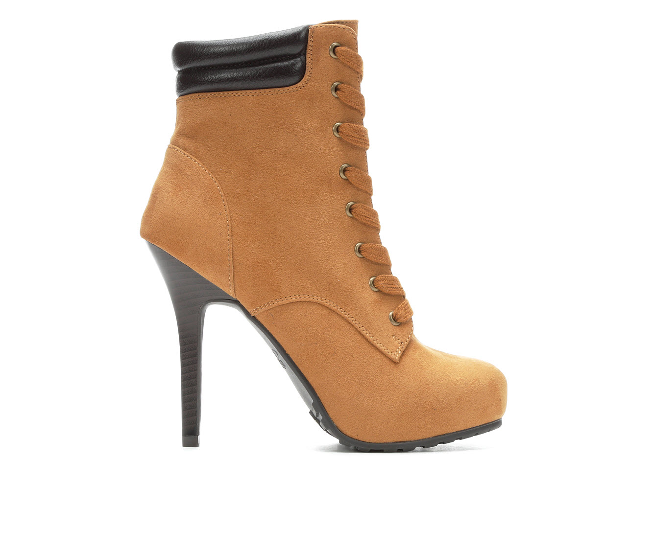 Y-Not Belle Women's Boot (Brown Faux Leather)