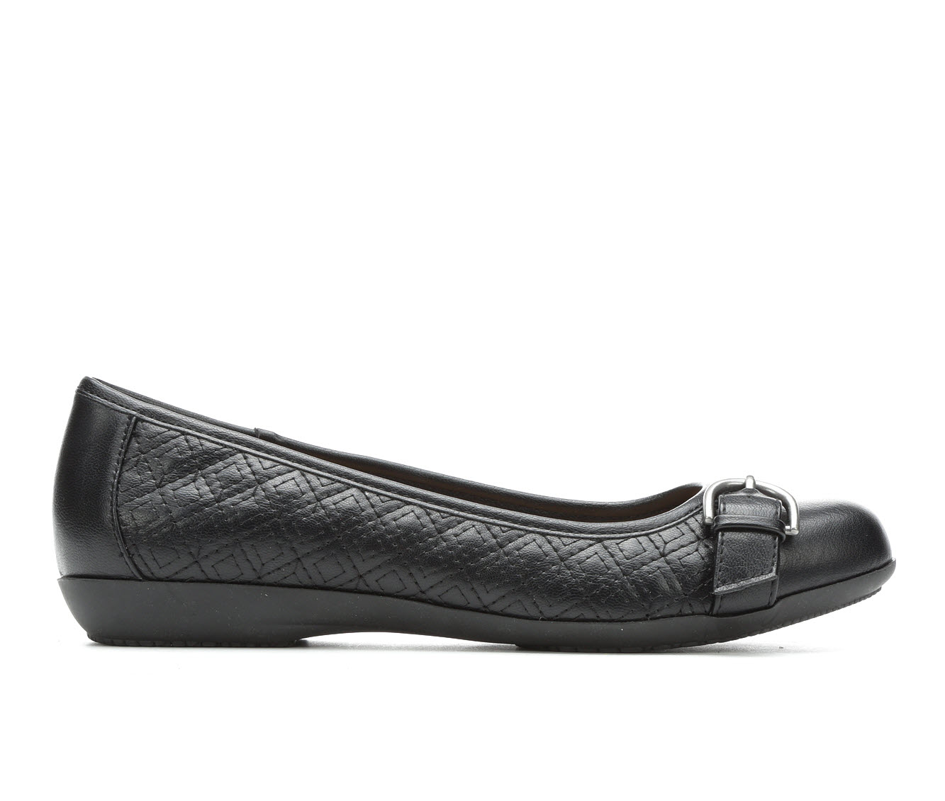 Solanz Chelsea Women's Shoe (Black Faux Leather)