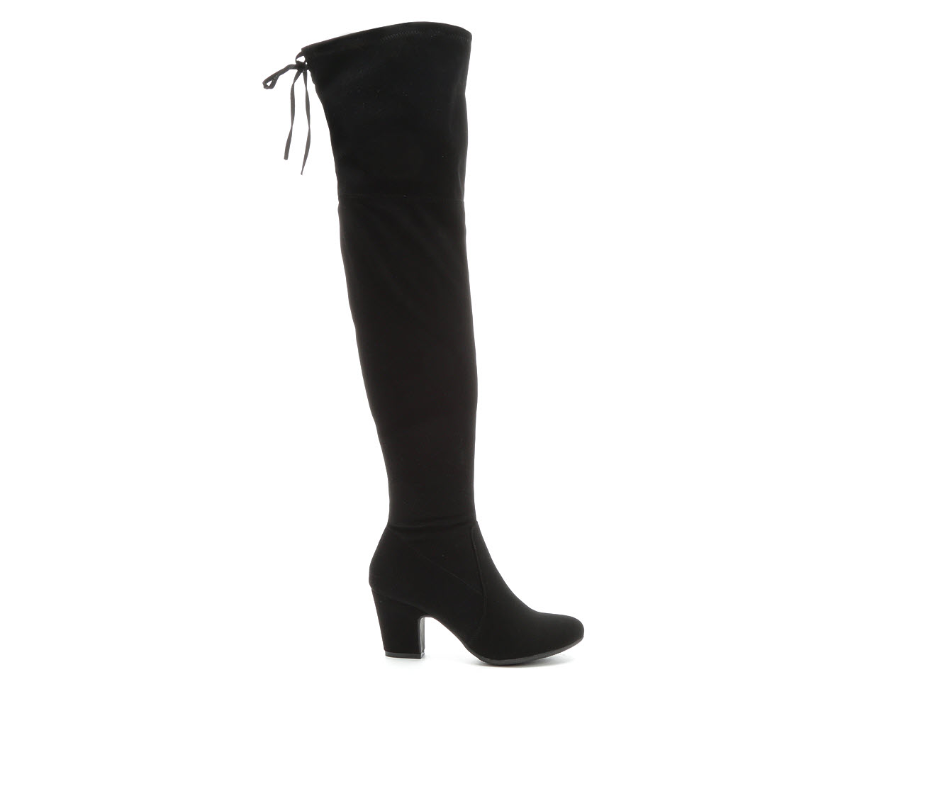 Y-Not Carlson Women's Boot (Black Faux Leather)