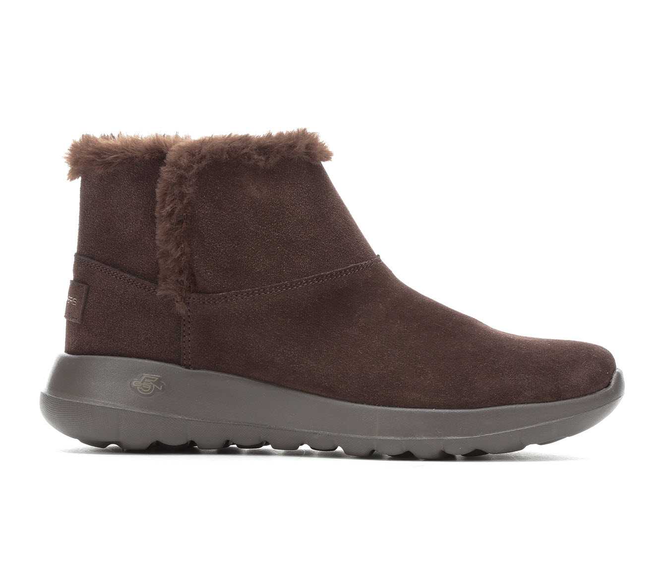 Skechers Go On the Go Bundle Up Women's Boot (Brown Faux Leather)