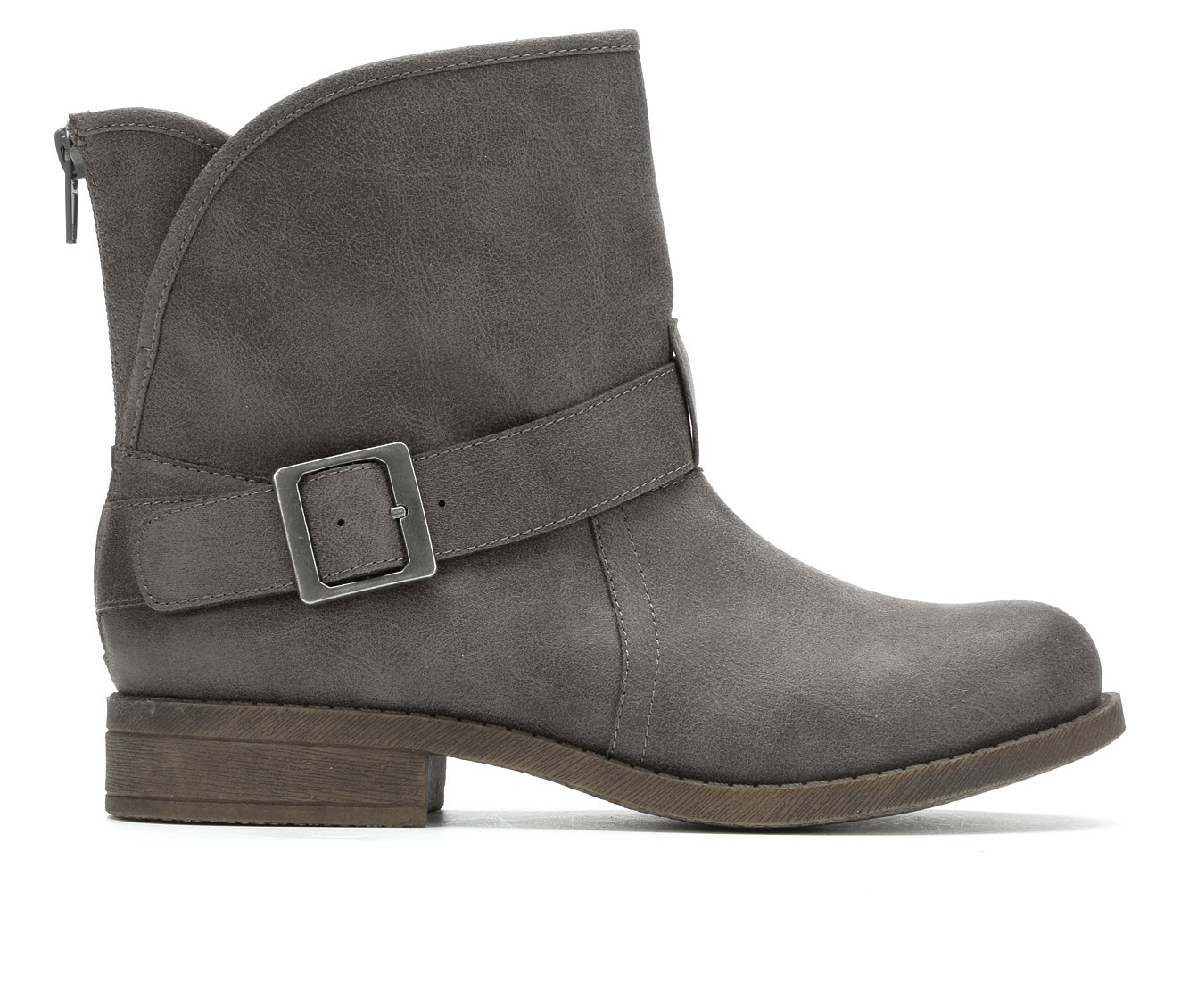 No Parking Wilna Women's Boots (Gray - Faux Leather)