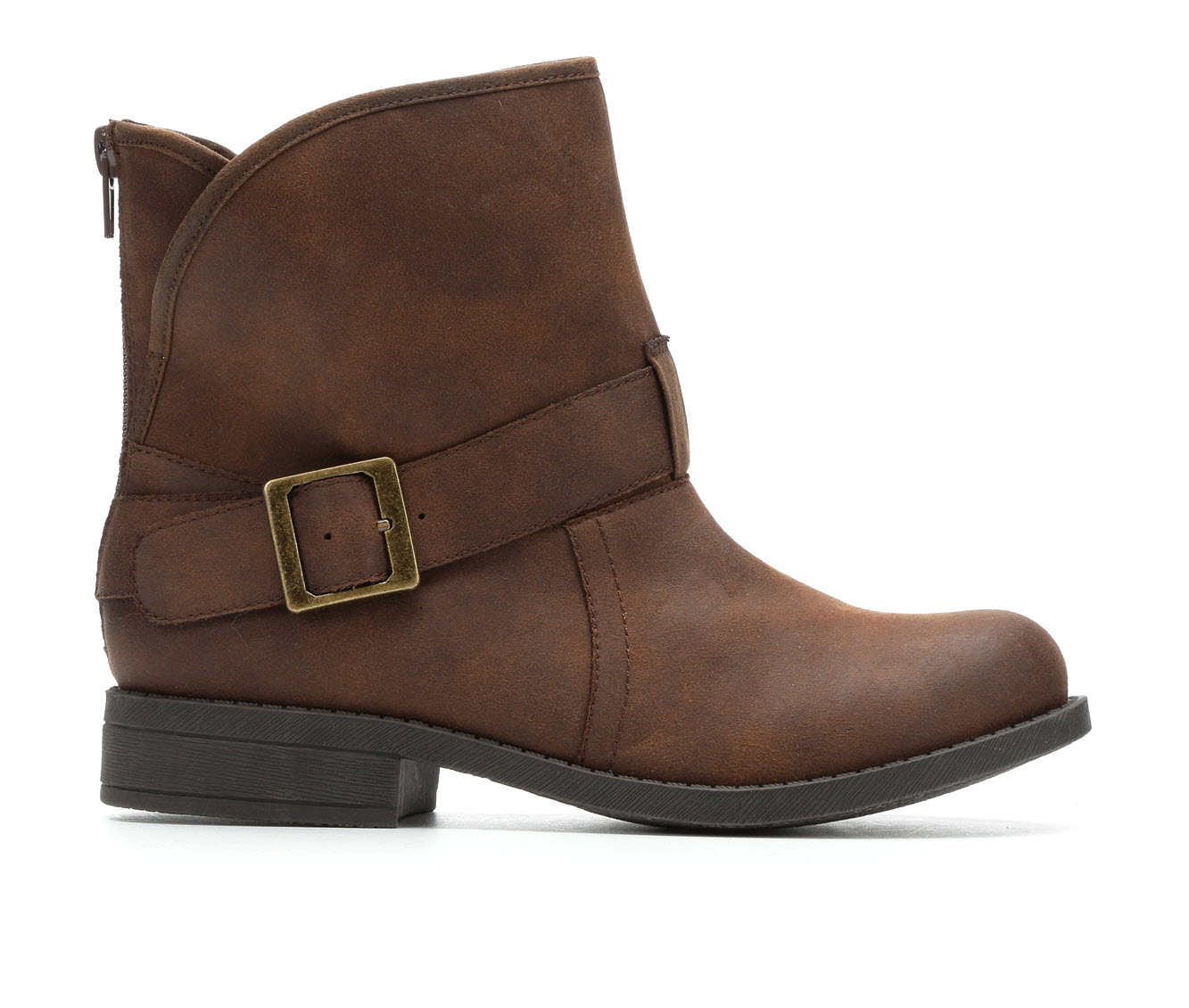 No Parking Wilna Women's Boots (Brown - Faux Leather)