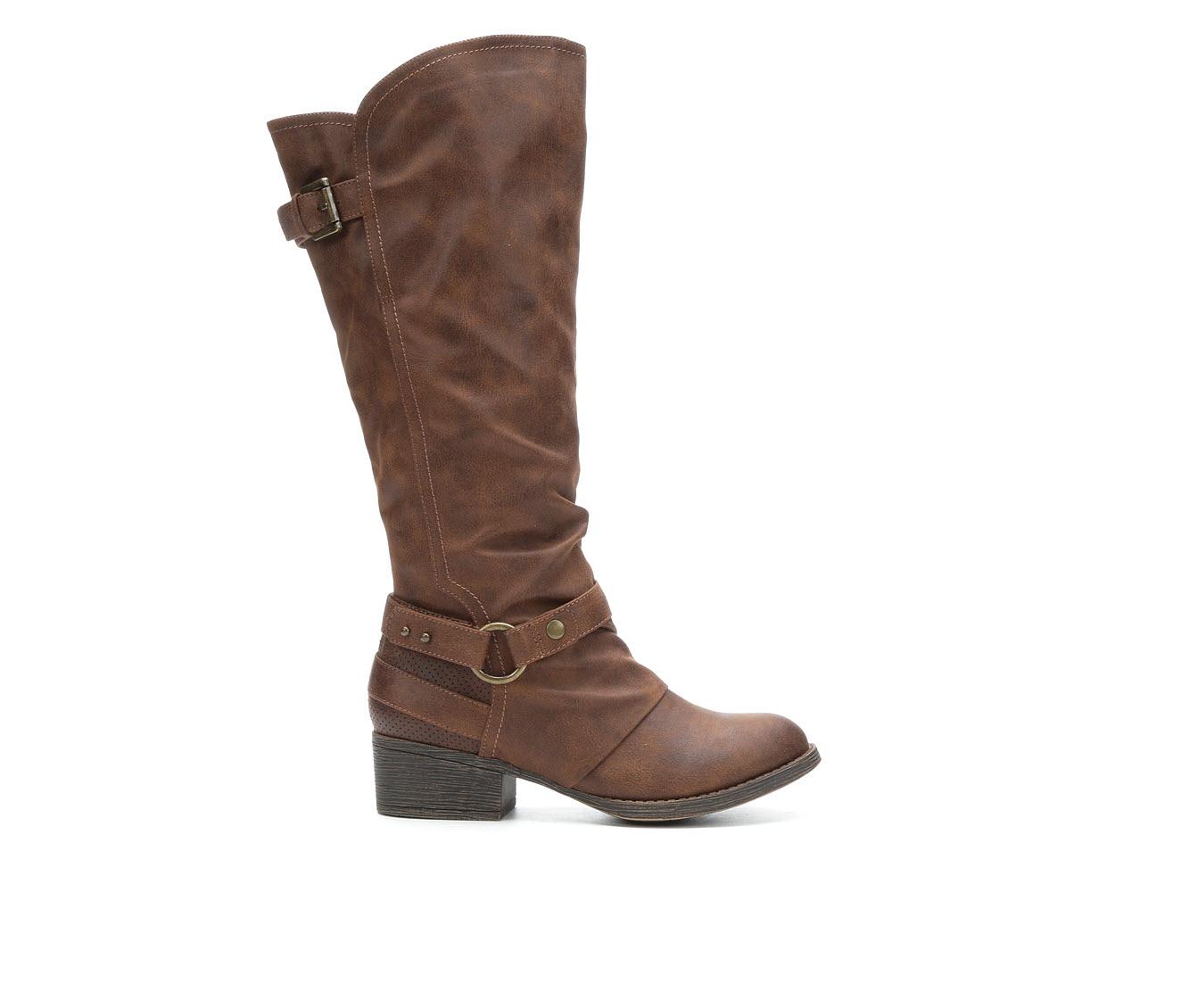 Sugar Danty Women's Boot (Brown Canvas)