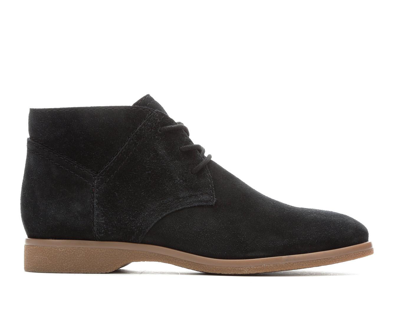 Franco Sarto Percy Women's Boots (Black - Suede)