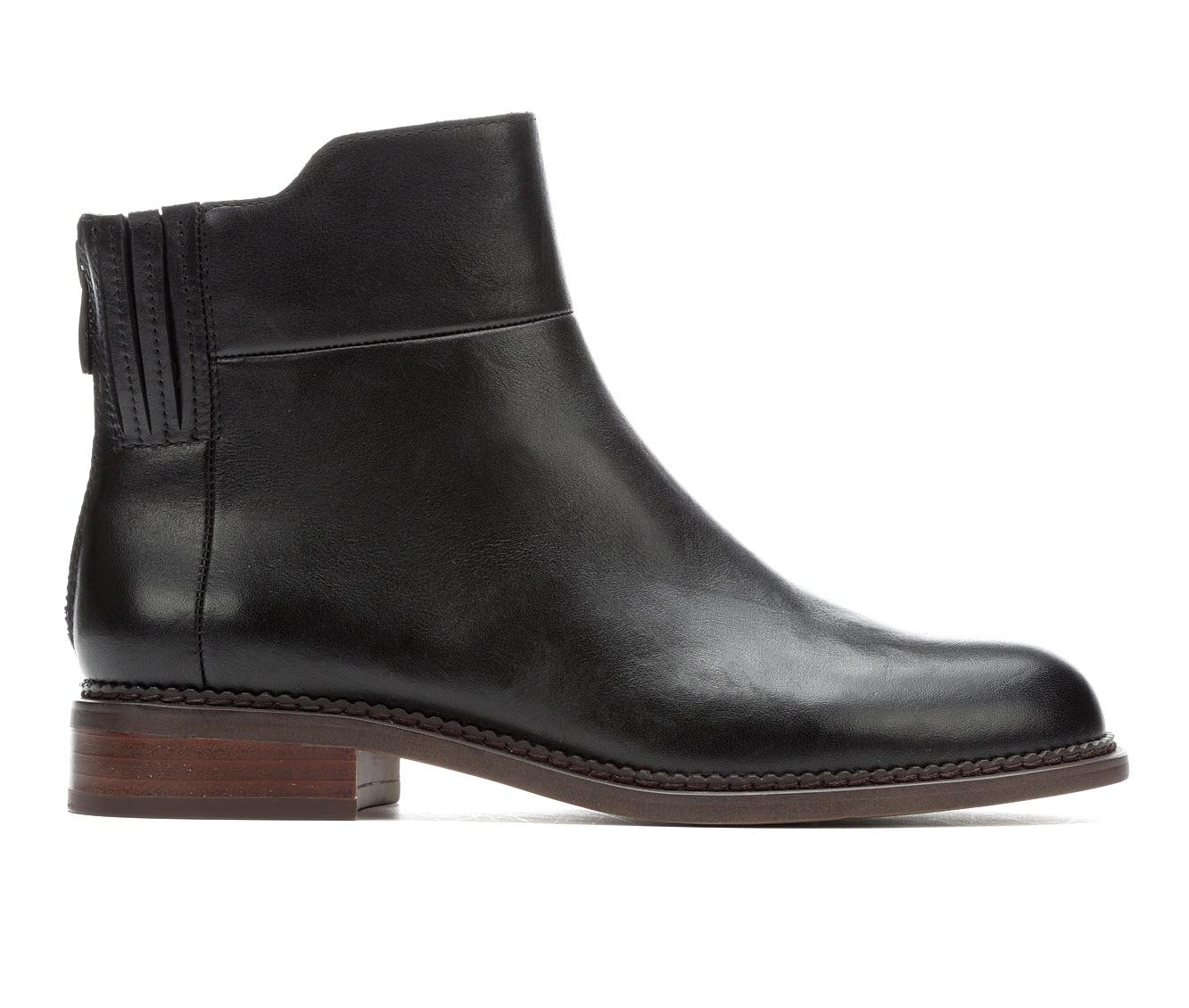 Franco Sarto Hawk Women's Boot (Black Leather)