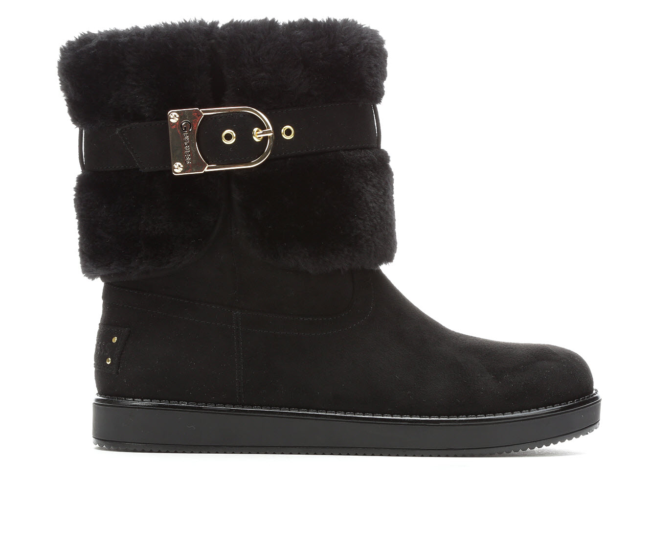 G By Guess Aussie Women's Boots (Black - Canvas)